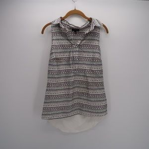 The Limited Fair Isle Sleeveless  Shirt Top Size M